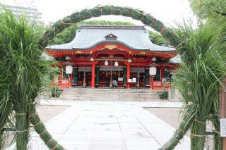Ikuta Shrine, Kobe Originated From