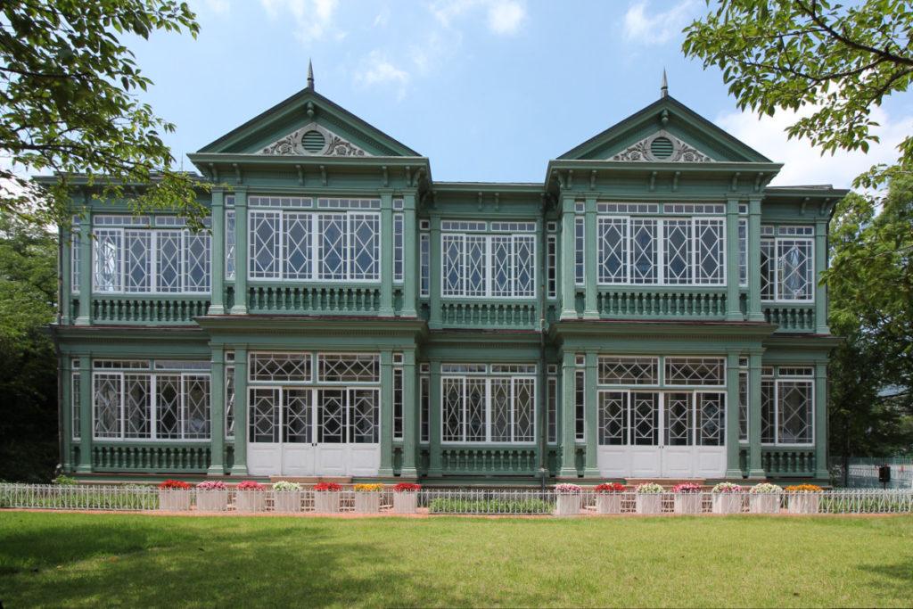 王子動物園の異人館 旧ハンター住宅