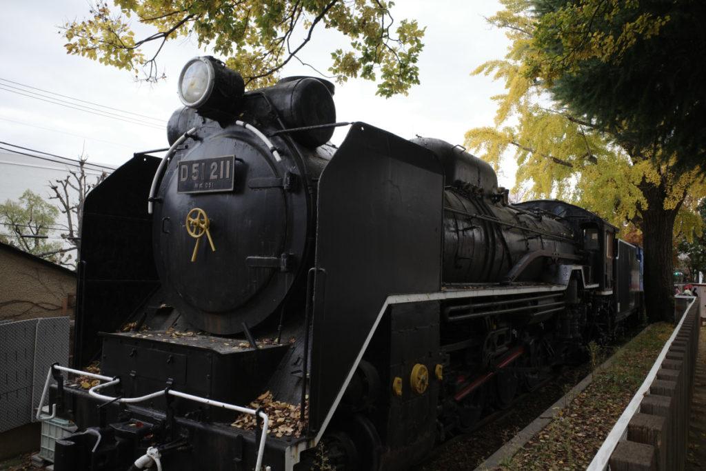 蒸気機関車「D51」 神戸市立王子動物園