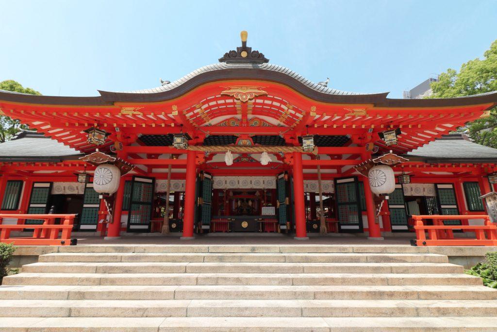 生田神社 IKUTA SHRINE 神戸・三宮にて