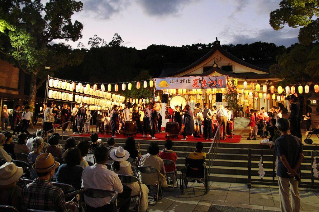 湊川神社夏まつり2681
