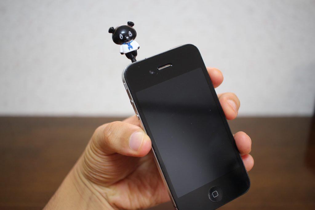 smartphone with kobear