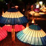 相楽園 庭の明かり