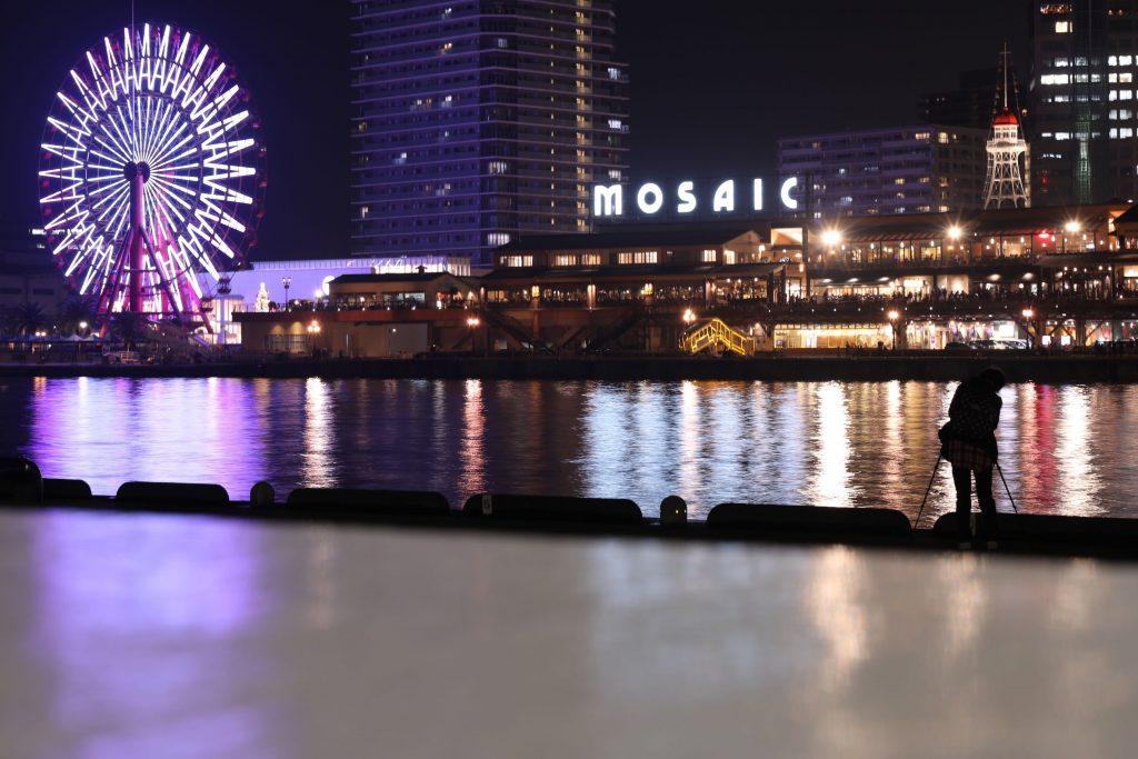 EOS 5D Mark4で撮影した作例写真 白い神戸モザイク
