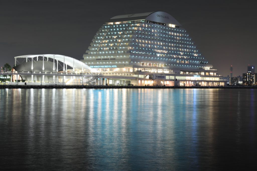EOS 5D Mark4で撮影した作例写真 神戸メリケンパークオリエンタルホテル