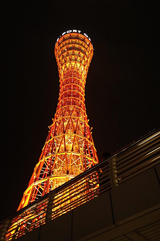 EOS 5D Mark4で撮影した作例写真 ポートタワーと歩道橋