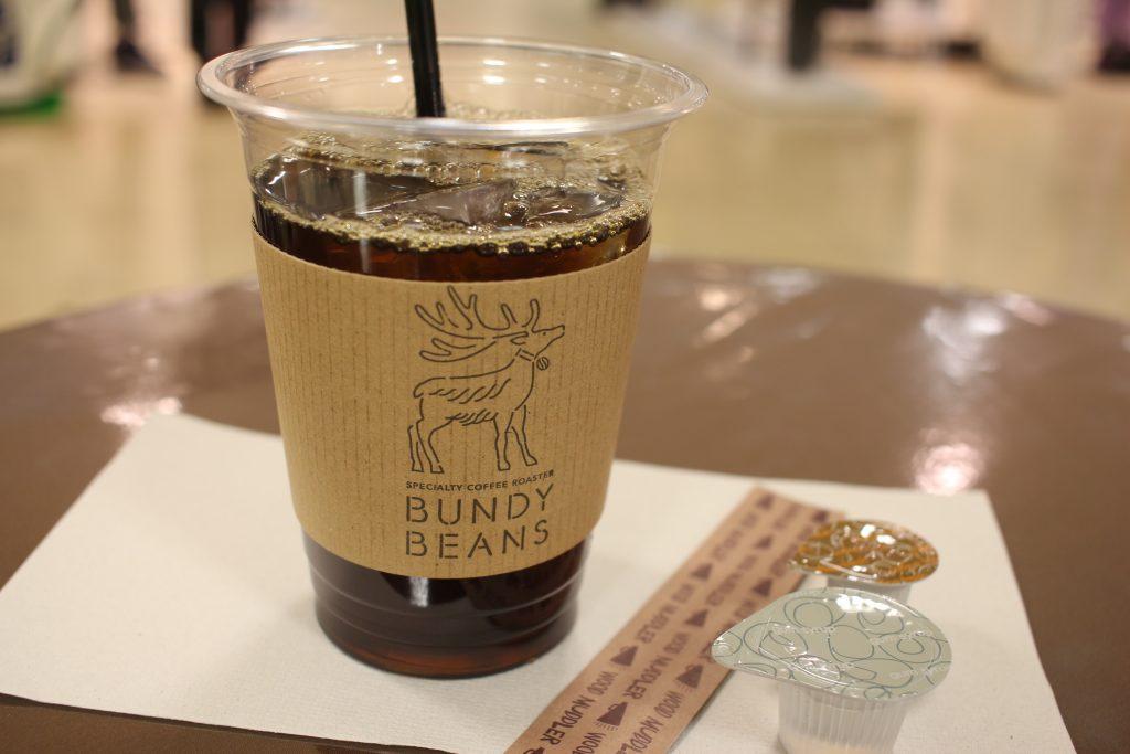 BUNDY BEANS アイスコーヒー