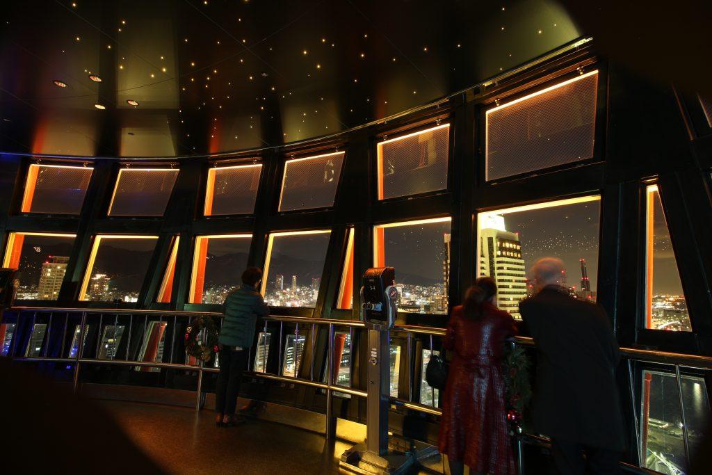 ポートタワーの5階展望室