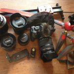 所有しているカメラ機材 2016年