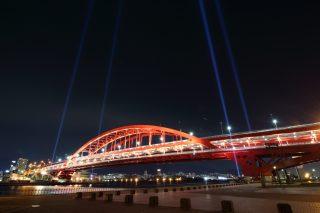 神戸大橋ライトアップ 2017年1月〜3月の予定