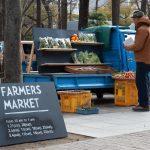 Farmers Market in Sannomiya, KOBE on Saturday