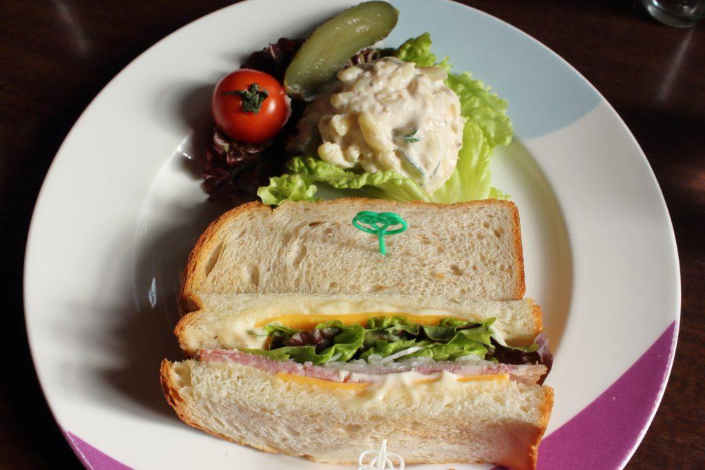 フロインドリーブ ランチセット サンドイッチ