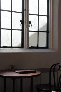 フロインドリーブ カフェ窓際の座席