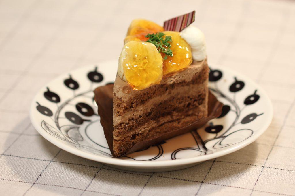 ボックサン バナナのケーキ