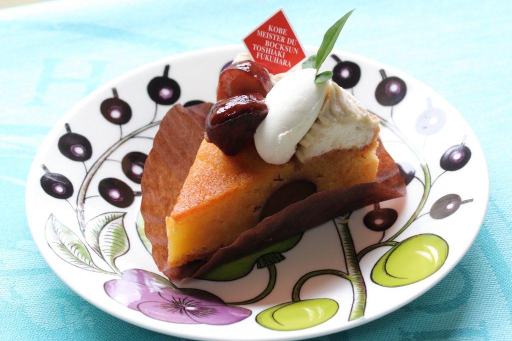 ボックサン 栗のケーキ