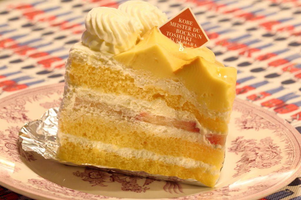 ボックサン プリンケーキ