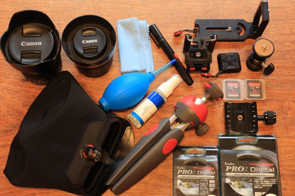 カメラを買うときに必要なモノとあると便利なモノ