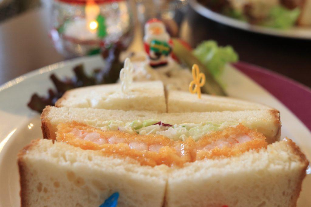 サンドイッチ クリスマスバージョン