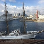 海の貴婦人「海王丸」が神戸に入港!夜にはイルミネーションも