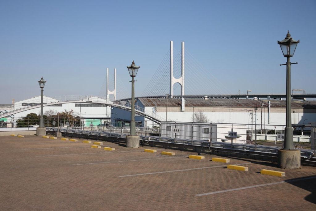 東水環境センターの駐車場