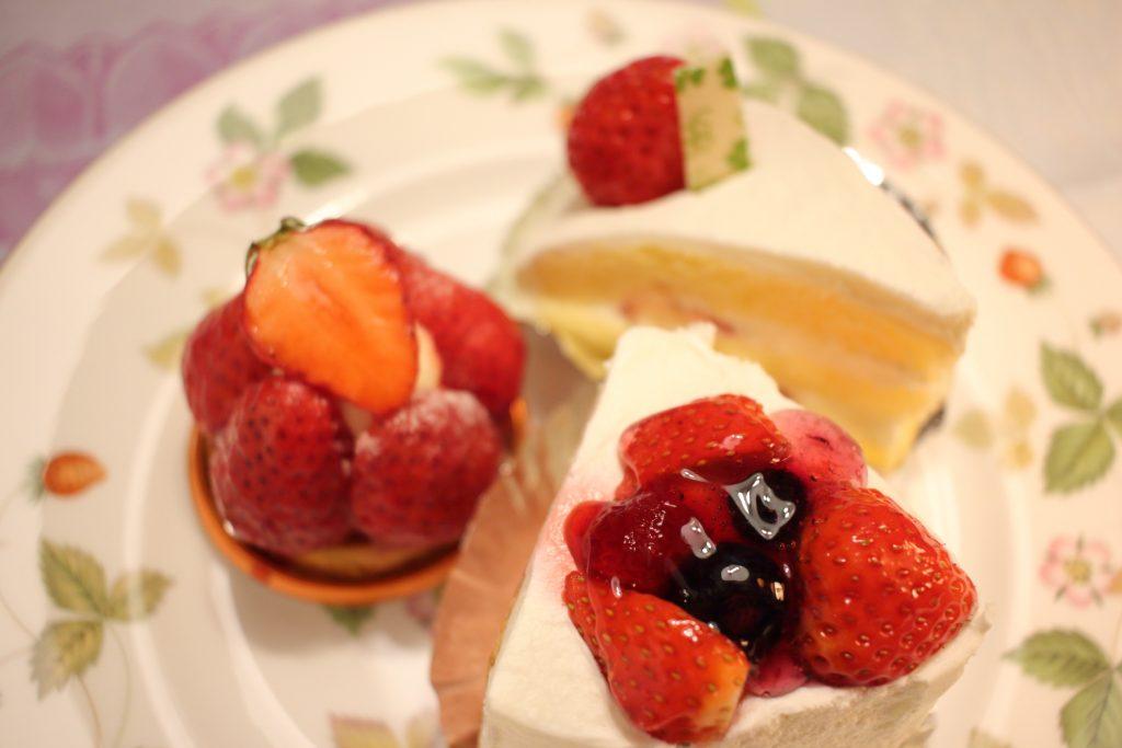ゴンチャロフ ケーキ3種