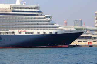 クイーンエリザベスが神戸にやってきた【写真】豪華客船が続々と寄港予定