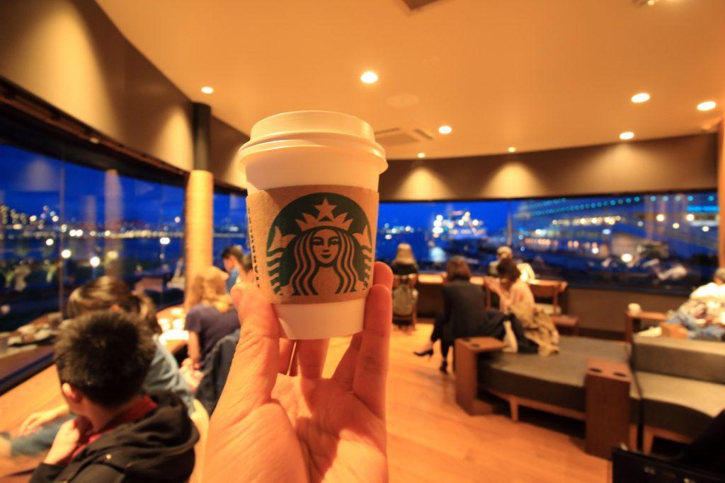 スターバックス 神戸メリケンパーク店 二階