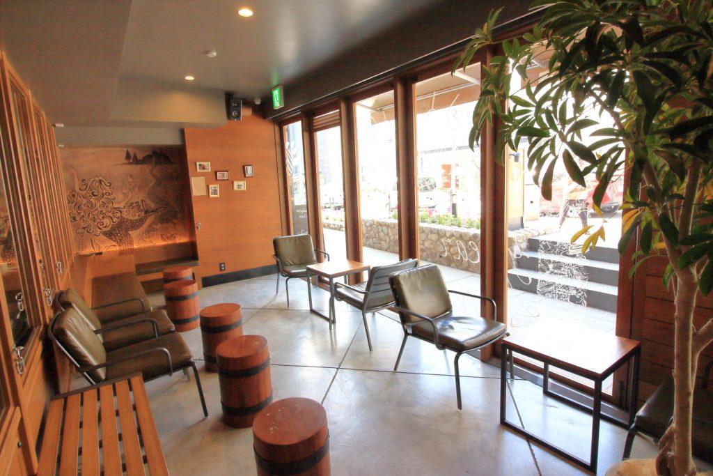 Neighborhood and Coffee 中山手通2丁目店 ペットスペース
