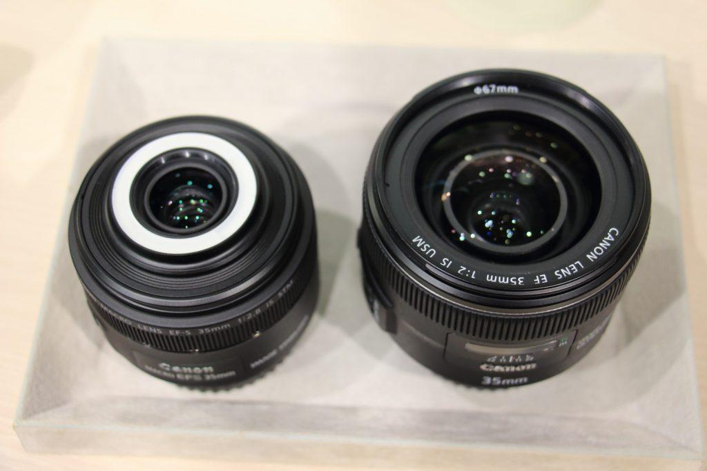 EF35mmF2とEF-S35mmF2.8の比較 二種類の35mmレンズ