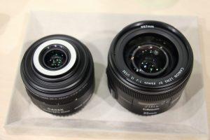 EF35㎜F2とEF-S35mmF2.8の比較 二種類の35㎜レンズ