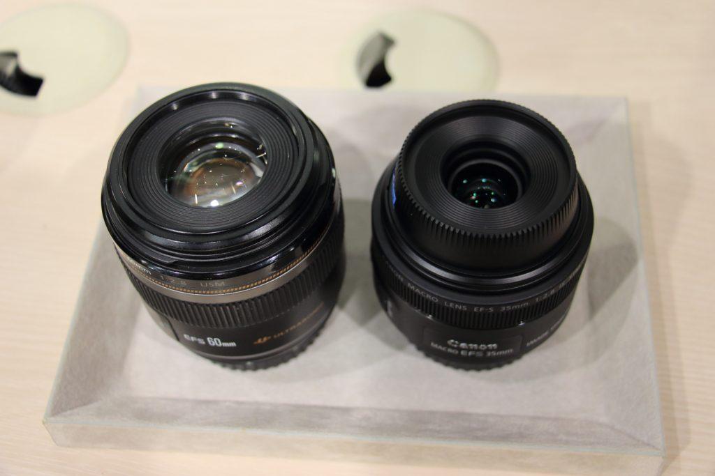 EF-S60mmとEF-S35mmの比較 二種類のマクロレンズ
