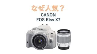 なぜCANON Kiss X7はいまだに売れ筋の人気一眼レフカメラなのか