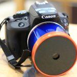 虫眼鏡とポテチの筒でカメラ用レンズを手作り!