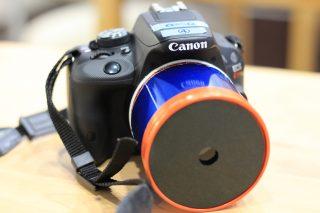 虫眼鏡とポテチの筒でカメラ用レンズを手作り!嘘みたいにきれいに撮れてびっくり