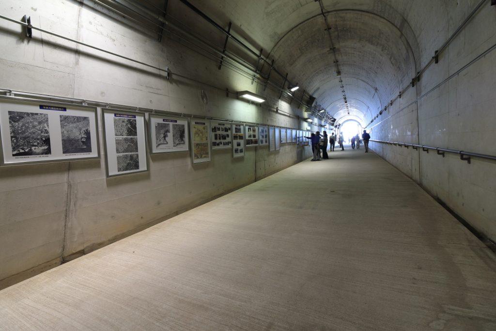 湊川隧道パネル展示