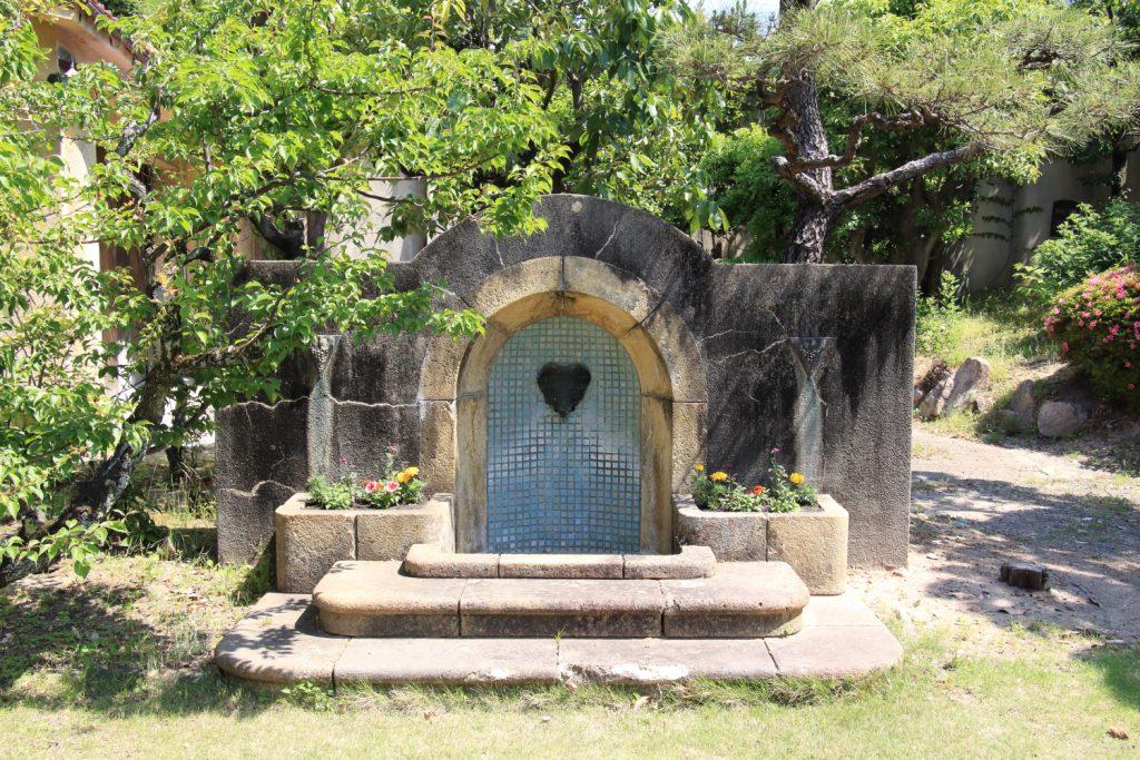 旧乾邸の庭