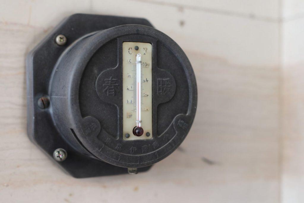 乾邸 温度計