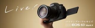 キヤノンEOS 6D Mark2のスペック詳細!フルサイズ一眼レフカメラ入門におすすめ?
