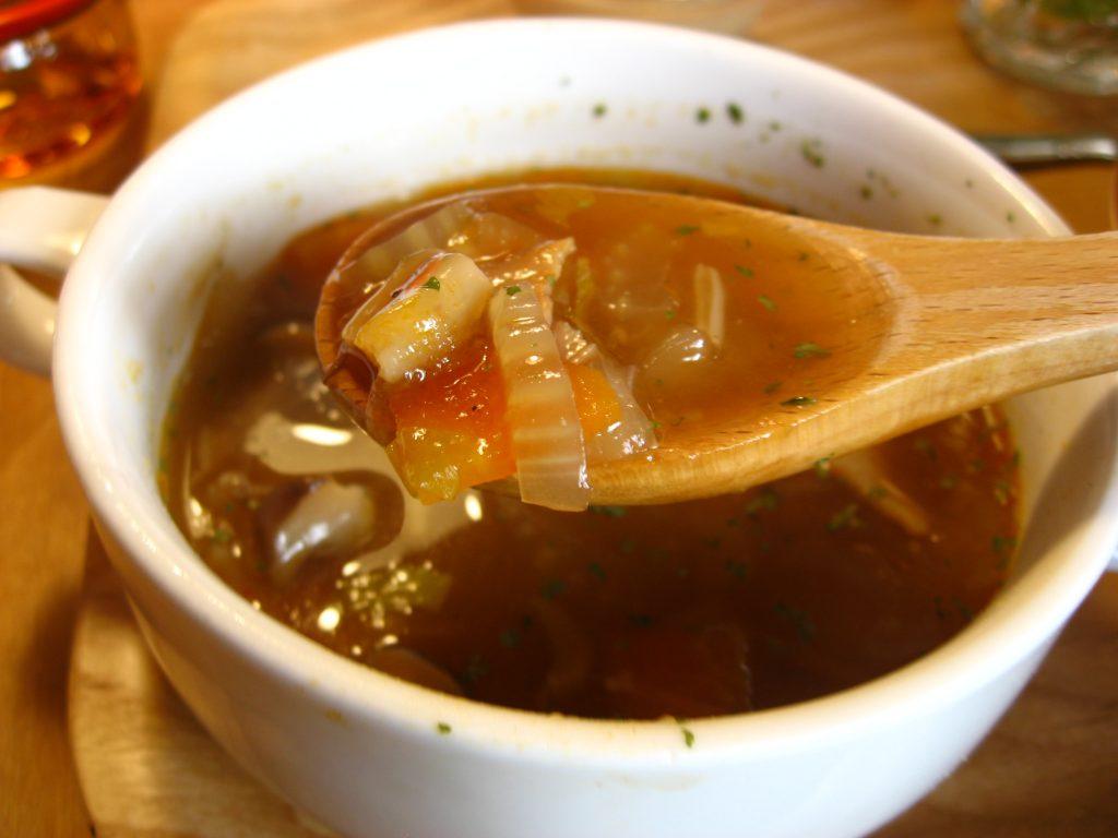 ココシカランチのスープ