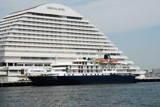 クルーズ客船「カレドニアン・スカイ」(CALEDONIAN SKY)の入港予定