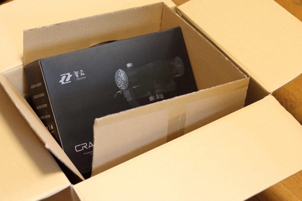 Zhiyun Crane Mの梱包