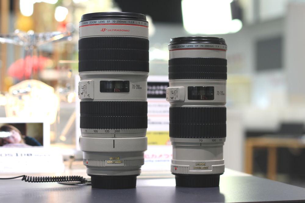 EF70-200mmの比較
