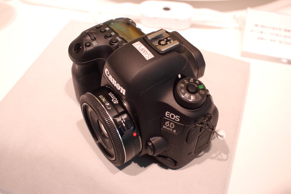 EOS 6D Mark2とEF 40mm F2.8 STM