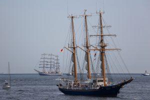 帆船フェスティバル 入港パレード