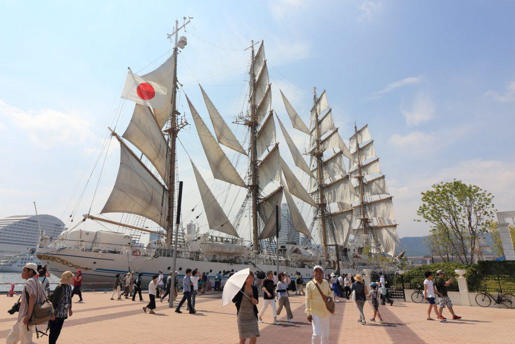 帆船フェスティバル セイルドリル
