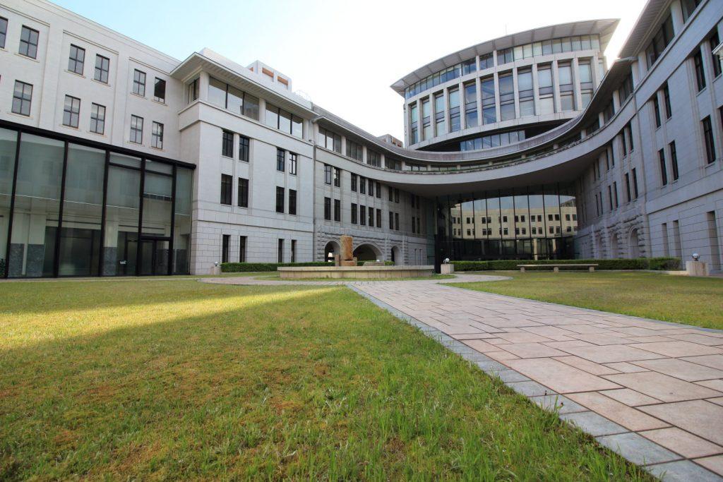 神戸税関 中庭