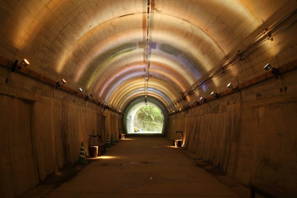 神戸市立森林植物園 トンネル