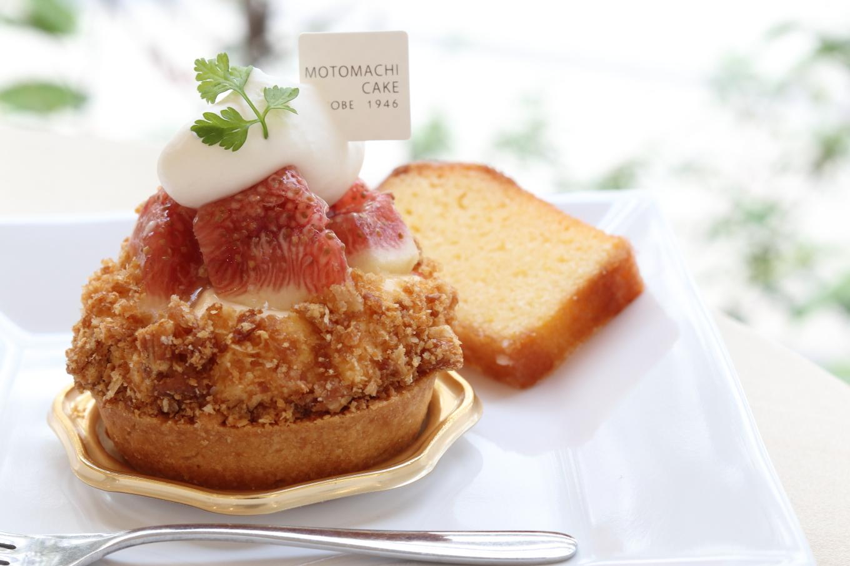 元町ケーキ いちじくのタルト