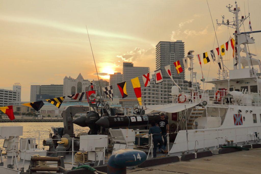 帆船フェスティバル 夕景