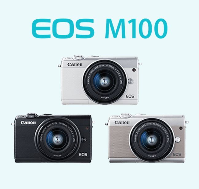 キヤノン ミラーレスカメラ EOS M100